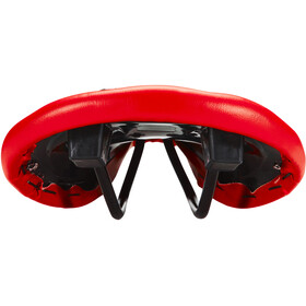 Ventura Bike+Outdoor Saddle avec rivet, red